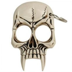 Skull Self Defense Keychain – Bone