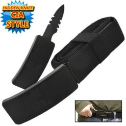 Belt Knife - Belt Buckle Knife - Concealed Knife