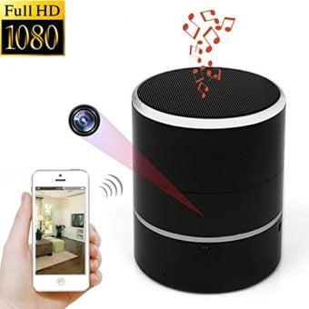 Hidden Camera 1080P WIFI HD Spy Cam Bluetooth Speakers