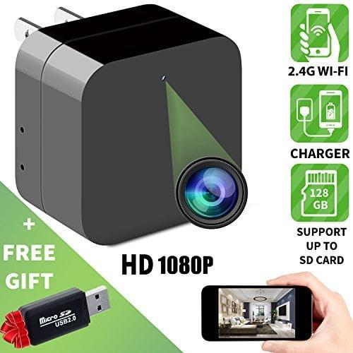 Full HD 1080P USB Wall Charger Mini Spy Motion Hidden Camera Power Adapter Ao