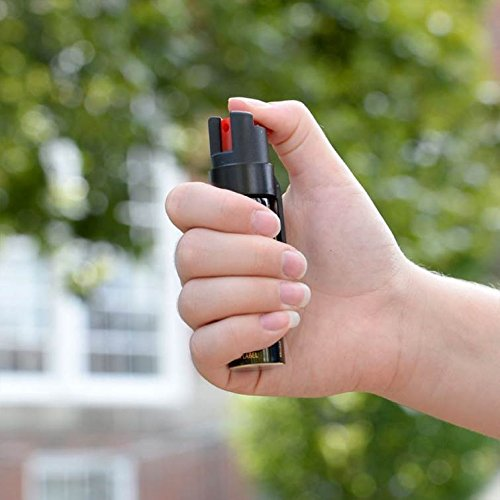 SABRE 3 IN 1 Pepper Spray   Police Strength (Max Protection   35 shots, up to 5x's more)