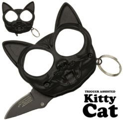 Kitty Cat Punch Fist Hidden Knife