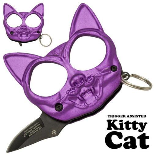 Kitty Cat Fist Hidden Knife |