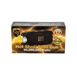 Hot Shot Stun Gun with Flashlight 90M Volts |